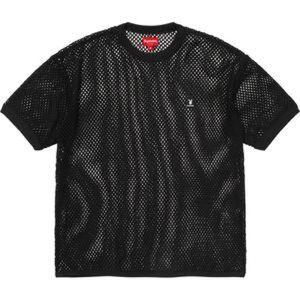 SUPREME Cotton Mesh Playboy Shirt Size M